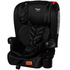 Автокресло TILLY Pegas T-533 Black, группа 1+2+3